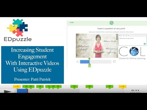 Increasing Student Engagement with Interactive Videos Using EDpuzzle
