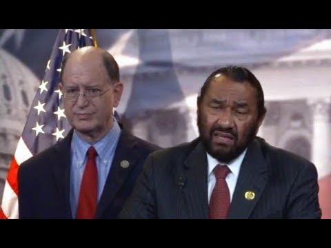 Rep. Al Green Articles of Impeachment Pres. Trump. News conference. 6/7/17.