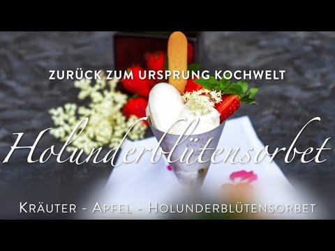 Kochwelt -  Holunderblütensorbet