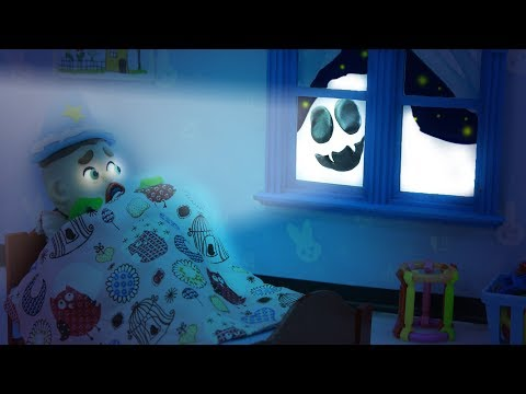 SUPERHERO BABY SPOTS REAL GHOST IN NIGHTMARE ???? Play Doh Cartoons For Kids
