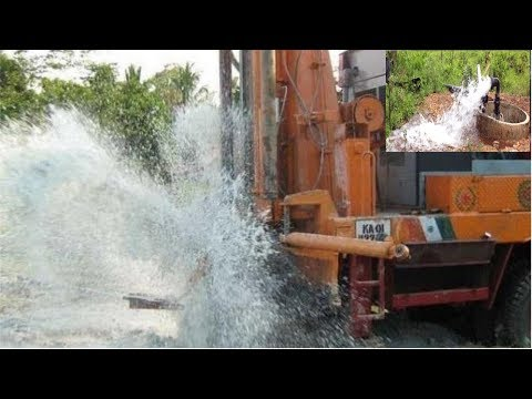 STEP BY STEP BORE WELL DRILLING IN MY VILLAGE | COCONUT METHOD OF FINDING GROUND WATER