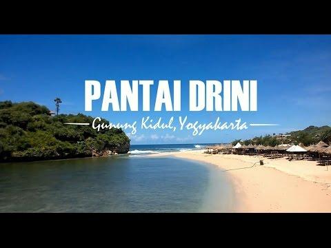 Pesona Keindahan Pantai Drini Gunung Kidul Yogyakarta Youtube