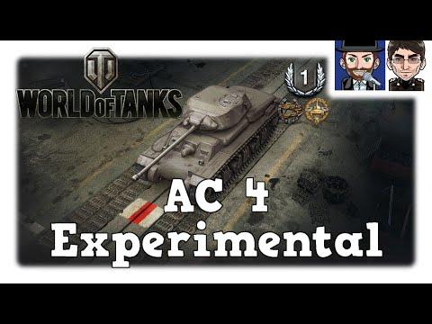 World of Tanks - AC 4 Experimental, Moerp & Ohare testen den neuen Premium [deutsch | News]