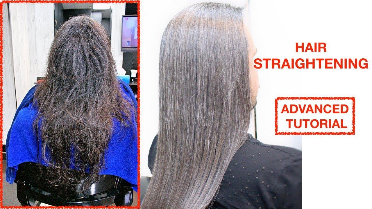 hair rebonding treatment★hair straightening & smoothing★men's hairstyle♠️women hairstyle♠️tutorial✔️
