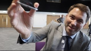 EDDIE HEARN (IN DEPTH) JOSHUA v TAKAM, BELLEW v HAYE, DILLIAN WHYTE, DEONTAY WILDER & RYAN BURNETT