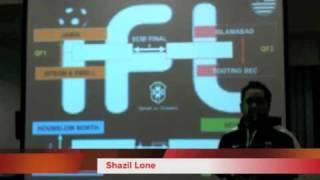 IFL London Quarter Final Draw