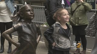 Artistic Showdown Over 'Fearless Girl' Statue