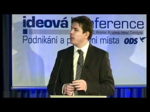 """Jan Skopeček na 3. ideové konferenci ODS """"Podnikání a pracovní místa"""""""