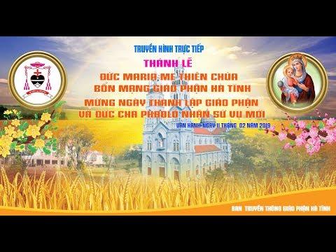 Mừng ngày thành lập Giáo Phận Hà Tĩnh và Đức Giám Mục Phaolô Nguyễn Thái Hợp nhận sứ vụ mới.