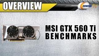 newegg TV: Benchmarking - SLI MSI NVIDIA GeForce GTX 560 Ti