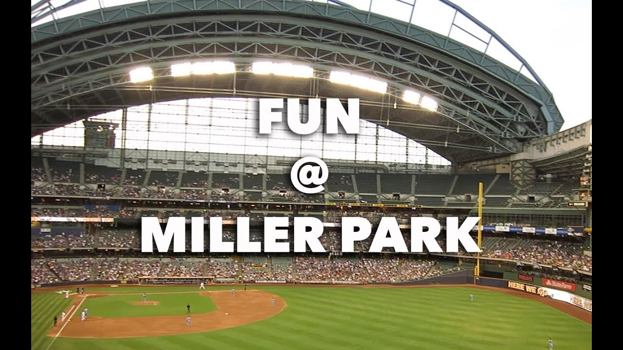 Milwaukee Miller Park Brewers Stadium - YouTube