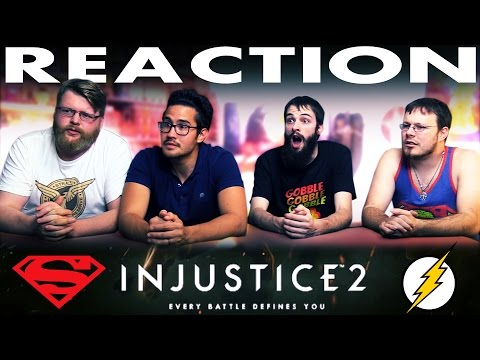 Injustice 2  Announce Trailer REACTION!! DC Comics Fighting Game