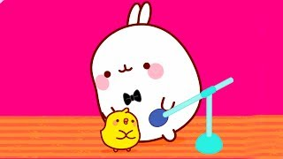 MOLANG and the STAGE FRIGHT - MOLANG COMPILATION - Cartoon for Kids