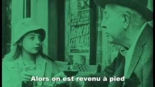 Pix Clip Yves Montand, En Sortant De L'école, vidéo et Parol