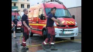 hommge a la brigade des sapeurs pompiers de CHELLES