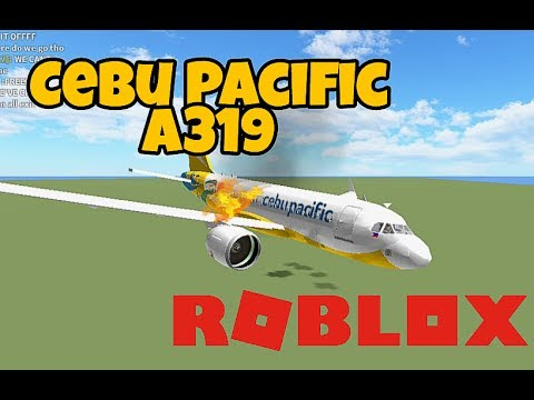 Roblox Flight | Cebu Pacific A319 | CRASH?!?!