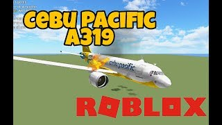 Roblox Flight | Cebu Pacific A319 |