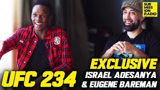 UFC 234 EXCLUSIVE: Israel Adesanya & Eugene Bareman Days Out From Anderson Silva Fight