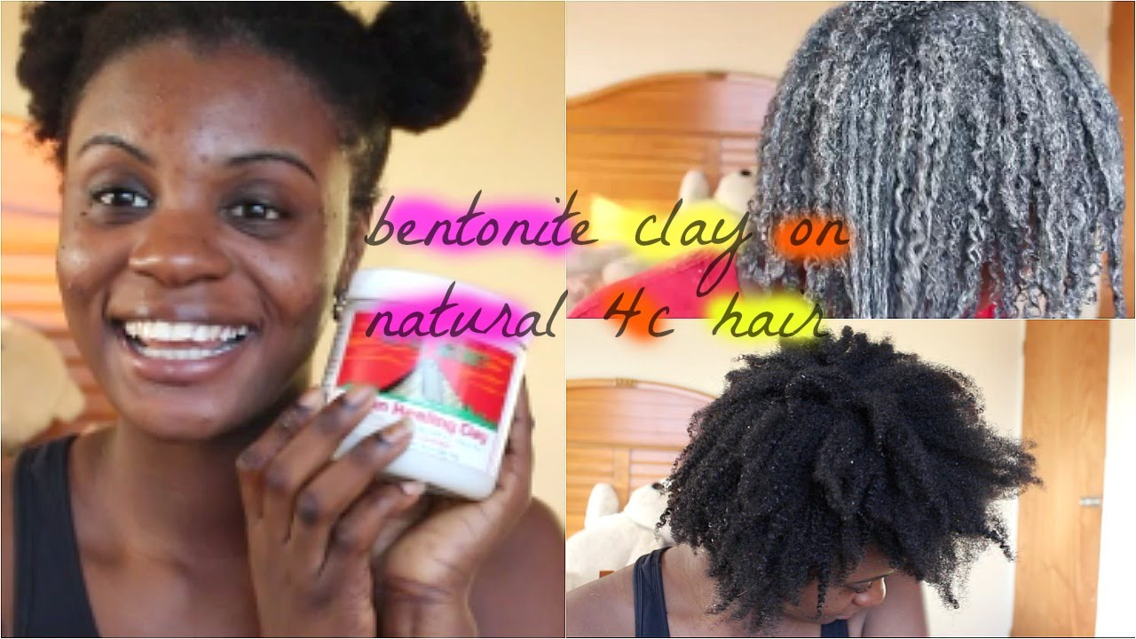Natural Hair Clay Wash
