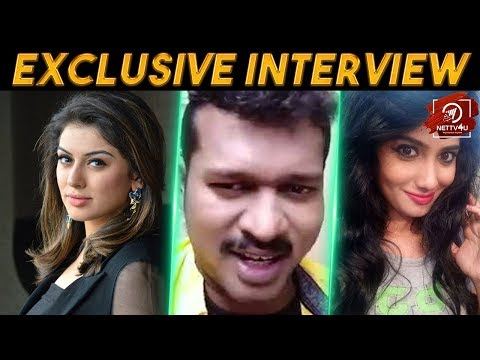 Hansika is my Lover, but Julie is my... Exclusive Interview With Mannai Sathik