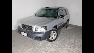 Subaru Forester X AWD Wagon 2005 Review For Sale