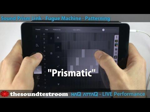 SoundPrism iPad Link edition Live performance │ Prismatic - haQ attaQ