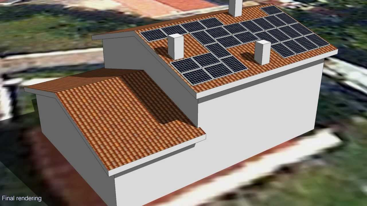 Residential Pv System Design With Sketchup Youtube