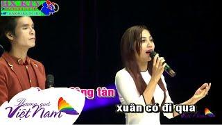 Karaoke Hai Đứa Mình Yêu Nhau - Ngọc Hân ft Ân Thiên Vỹ | Beat Gốc Thương Quá Việt Nam