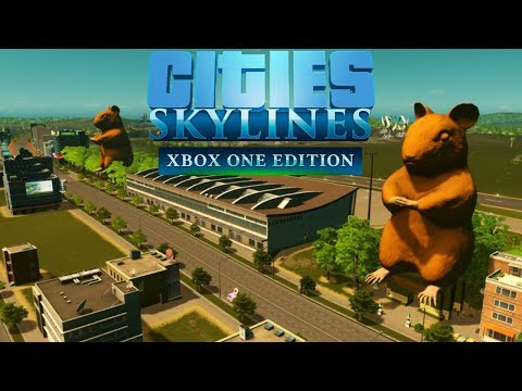 """Cities: Skylines (Xbox One) """"Console Mods are here!"""""""