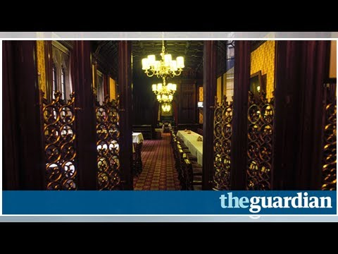 Secrets of the House of Lords dining room: 'It's like entering a priestly sacred chamber'