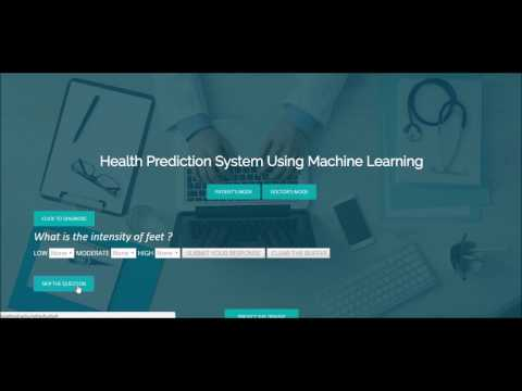 Health Prediction Using Supervised Machine Learning | Ashutosh Rout | AIT Pune