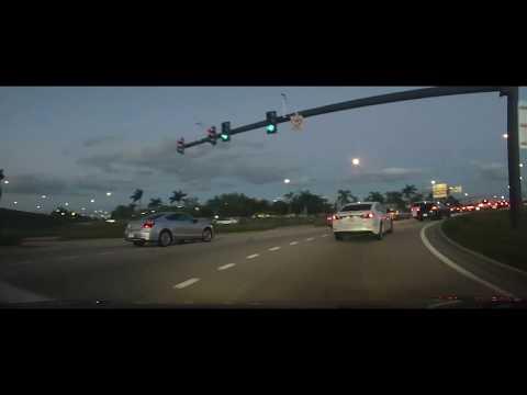 Driving around Sunrise, Florida