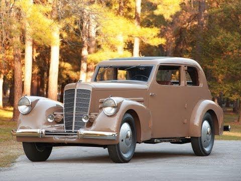 1932 Marmon HCM V 12 Two Door Sedan Prototype