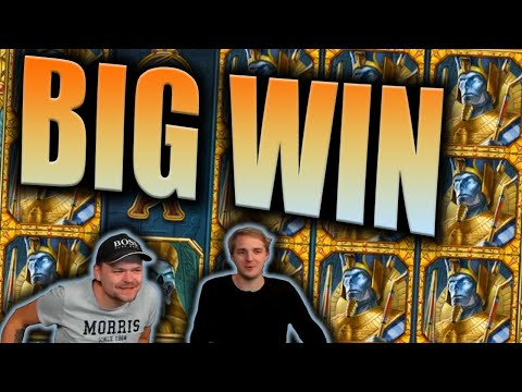 BIG WIN on DOOM OF EGYPT Slot - Casino Stream Big Wins - 동영상