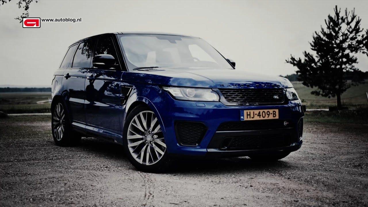 Range Rover Sport SVR review - YouTube