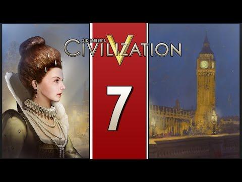 Scientific Progress - Let's Play Civilization V: Brave New World - England - Part 7