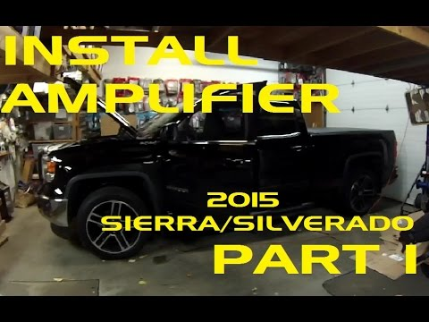 hqdefault part 1 how to install an amplifier in a 2015 sierra silverado  at bakdesigns.co