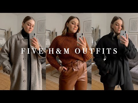 H&M HAUL + FIVE OUTFITS | HIGH STREET CAPSULE WARDROBE | I Covet Thee