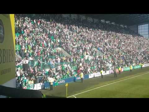 Sunshine on Leith at Easter Road