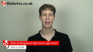 How Bring Down High Blood Sugar Levels Hyperglyce