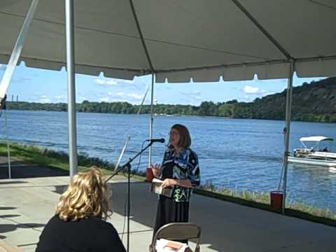Marjorie Maddox Reads At River Fest, 2012