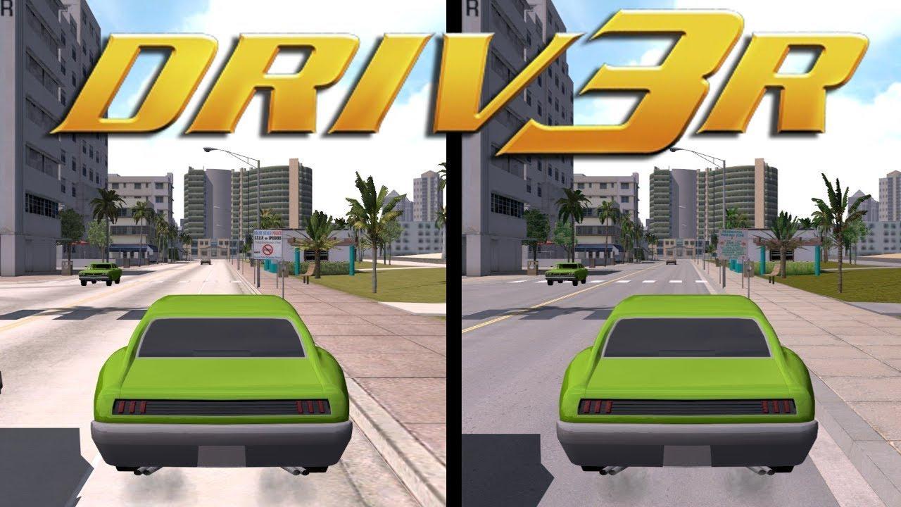 DRIV3R - HD Texture Pack MOD - Miami V2 !