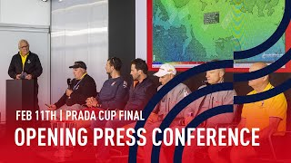 The PRADA Cup Final Opening Press Conference