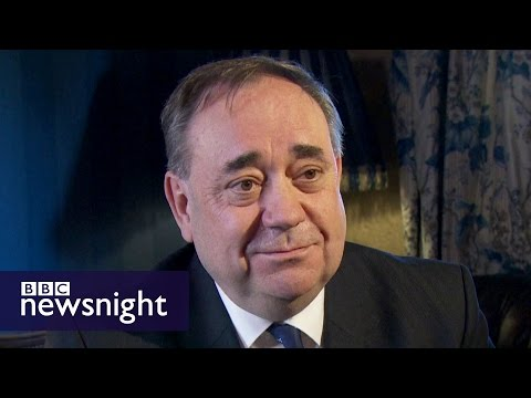 Alex Salmond: 'This election will not decide independence'  - BBC Newsnight