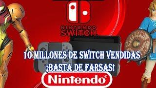 NINTENDO SWITCH HA VENDIDO 10 MILLONES - BASTA GAMERS POR MODA