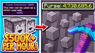 How I made $500,000 in 1 Hour | Hypixel Skyblock (Guide/Tips)