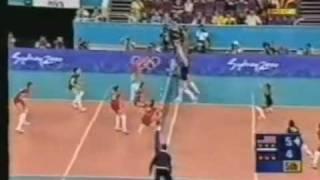sydney olympics volleyball russia vs usa semi finals