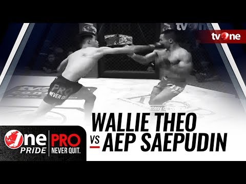 [HD] Wallie Theo vs Aep Saepudin || One Pride Pro Never Quit #24 Mp3