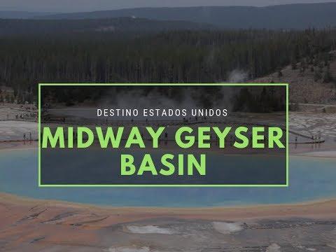 Midway Geyser Basin, en Yellowstone