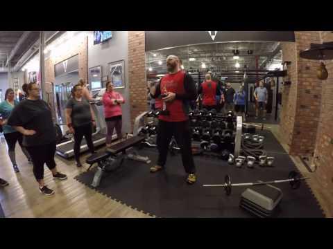 Weight LIfting w Big Jim